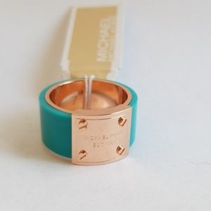 Michael Kors Rose Gold Ring Size 7